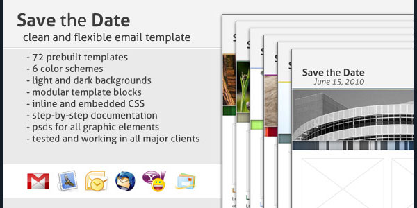 136 best email templates save the date email template flashek Choice Image