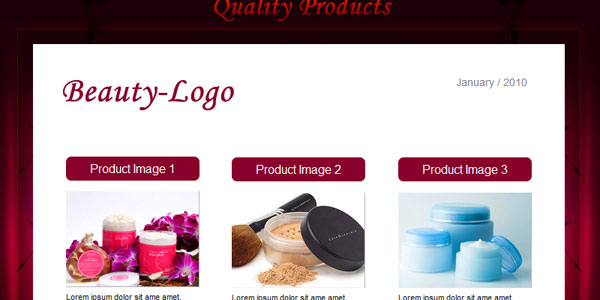 BEAUTY - Email Template