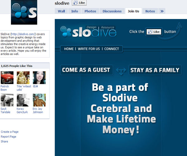 slodive 20 Top Well Designed Facebook Pages Design