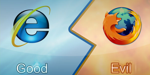 Internet Explorer vs. Firefox
