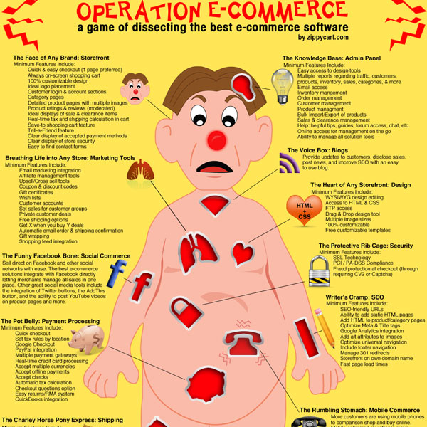 operation ecommerce 30 Top Infographics for Web Developers and Designers from 2010
