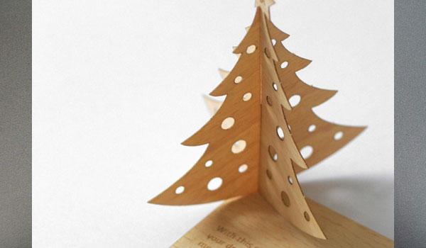 Cartão de Natal temático