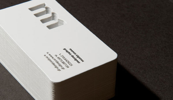 m1 business card