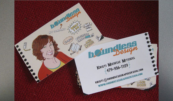 Boundless Graphic Design Card