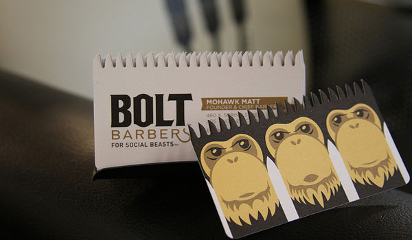 The BOLT business card