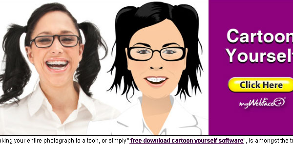 How do you make a cartoon picture of yourself