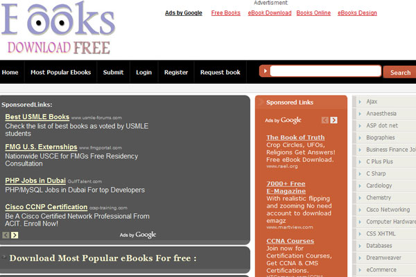 e-books Download Free