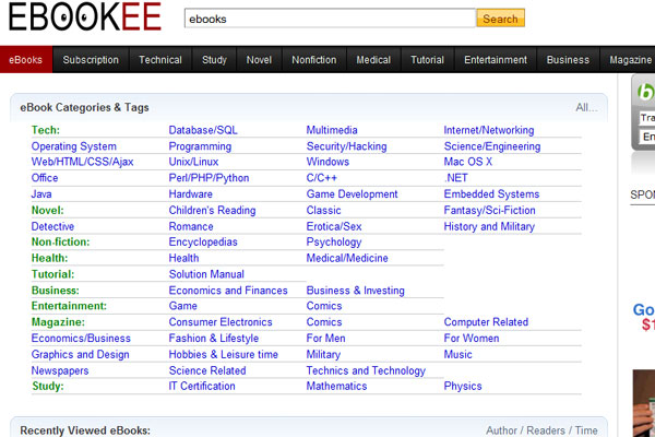 45 top websites to download free ebooks ebookee fandeluxe Choice Image