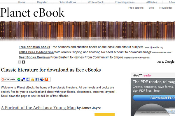 45 top websites to download free ebooks fandeluxe Choice Image