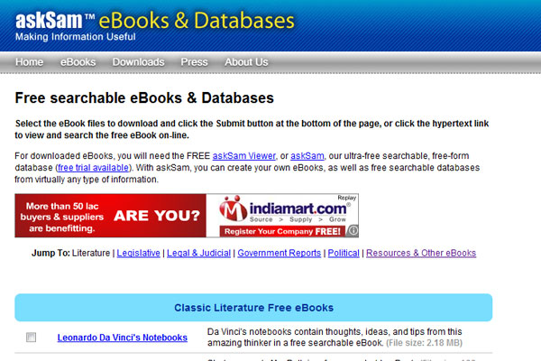 45 top websites to download free ebooks asksam fandeluxe Choice Image
