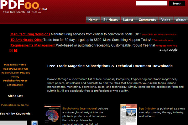 Ebooks 45 top websites to download free ebooks slodive pdfoo fandeluxe Images