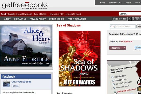EBooks - 45 Top Websites To Download Free EBooks - Design Press