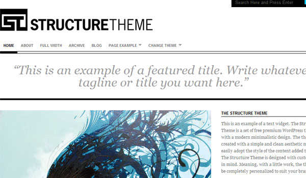 The Structure Theme