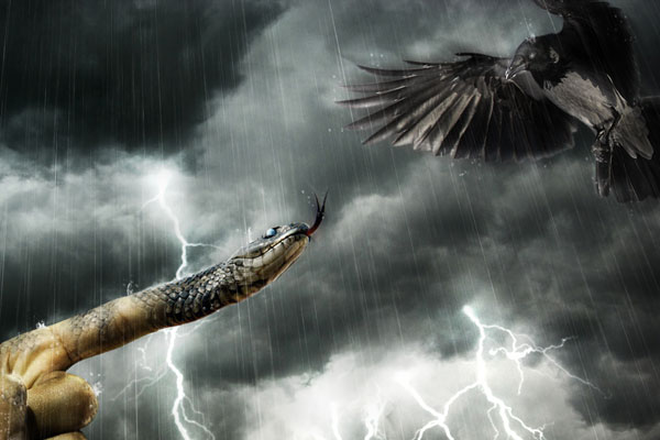 Design a Dramatic and Surreal Rainy Scene with Photoshop