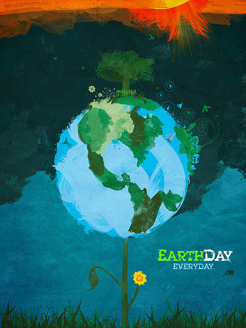 earth day posters images. Earth Day Poster Design