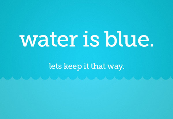 Water | Lets Keep It That Way