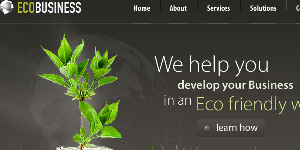 Eco Business PSD Template
