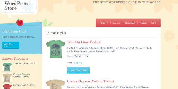 crafty cart 110 Free WordPress Themes For 2011