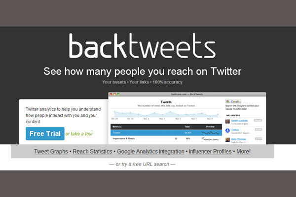 backtweets 10 Twitter Tools to Increase Your Productivity