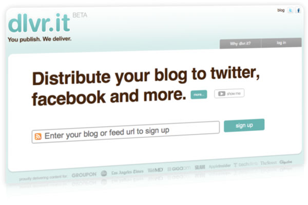 dlvr it twitter 10 Twitter Tools to Increase Your Productivity