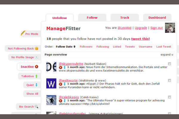 manage fitter 10 Twitter Tools to Increase Your Productivity