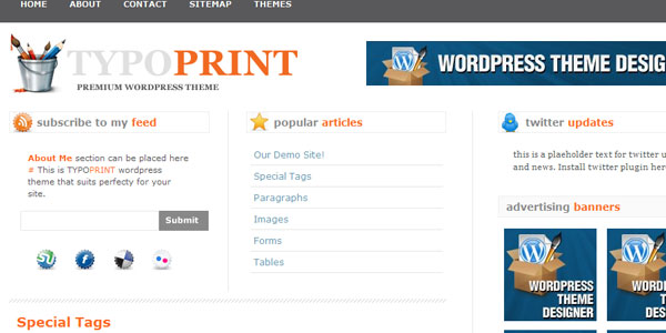 magazine theme 4 110 Free WordPress Themes For 2011