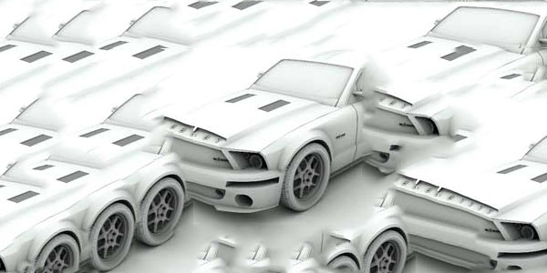30 3ds max modeling tutorials modeling a ford shelby series malvernweather Images
