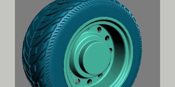 Modeling an offroad tire + rim