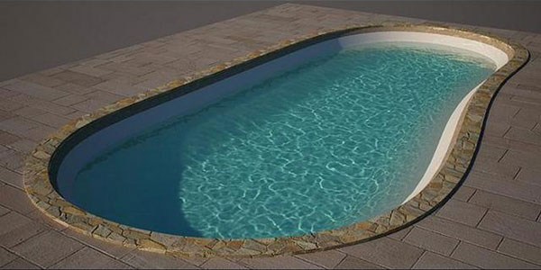 How to create a swimming pool model in 3DS Max