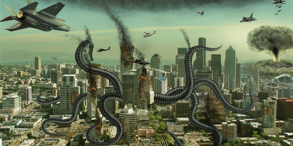 Create an Alien Invasion Photo Manipulation in Photoshop