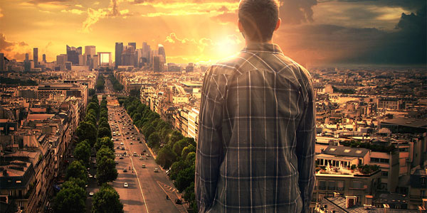 Facing a New Day – Photoshop Manipulation