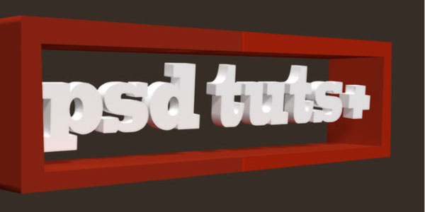 Use Photoshop CS5 Extended to Create a Simple 3D Logo