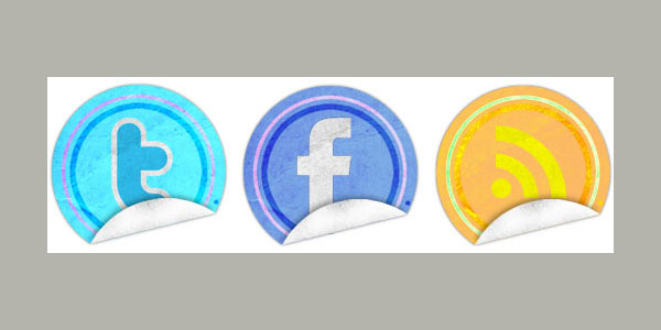 Create Your Own Social Icon Stickers