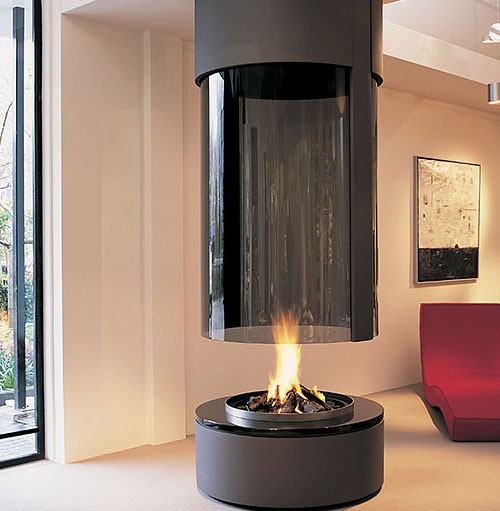 contemporary fireplace design 25 Tempting Fireplace Designs