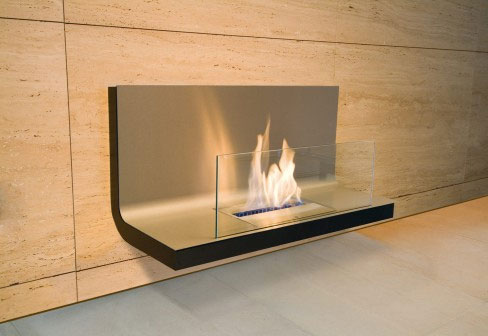 wall unit modern fireplace 25 Tempting Fireplace Designs