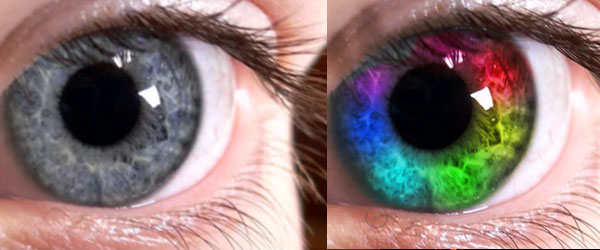Rainbow eyes tutorial