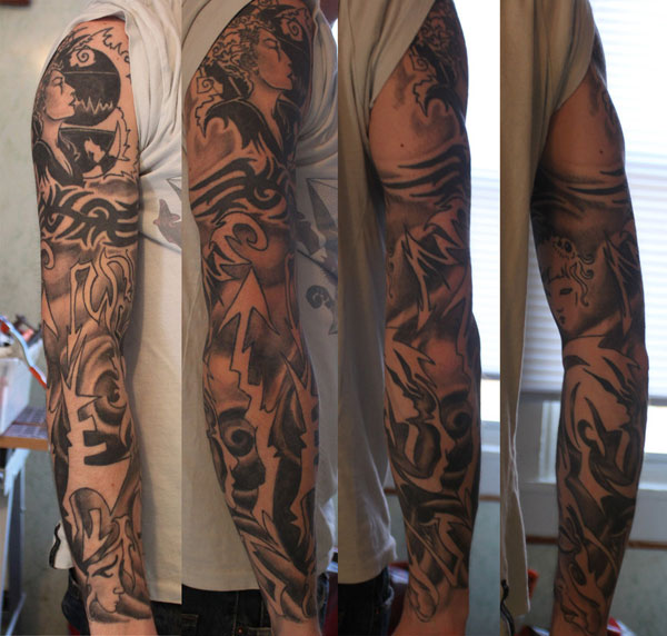 my sleeve tattoo 25 Full Sleeve Tattoo Designs
