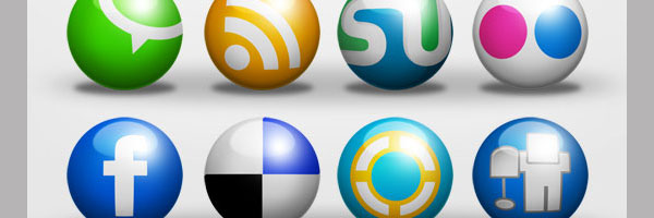 ball icons 50 Awesome Social Media Icons & Web 2.0 Icons