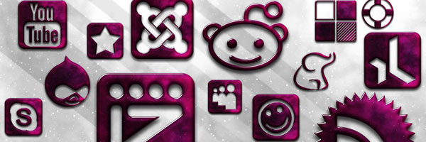 154 Glossy Space Icons