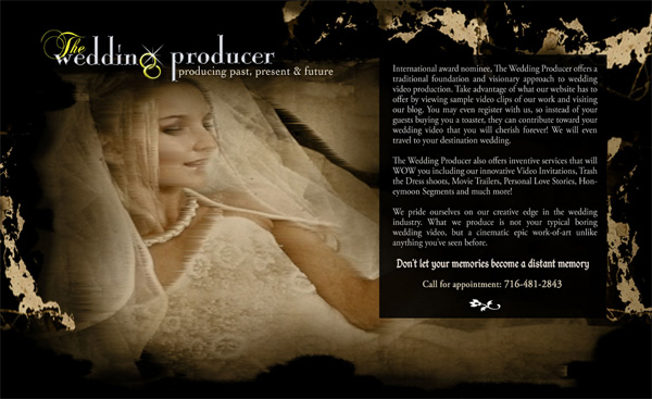 Flash Wedding websites