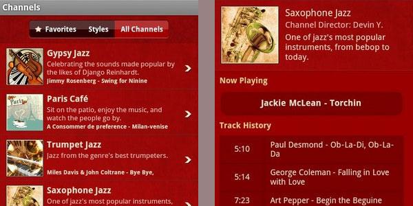 jazz radio 20 Free Android Media Players