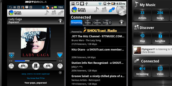 tune wiki 20 Free Android Media Players