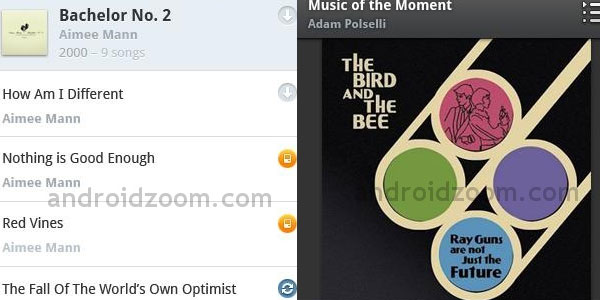 rdio 20 Best Android MP3 Players