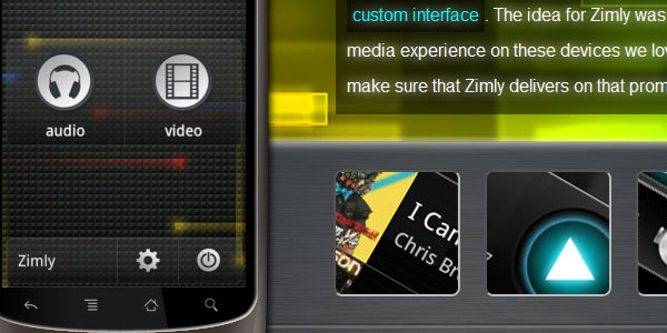 Zimly the Coolest Media Player