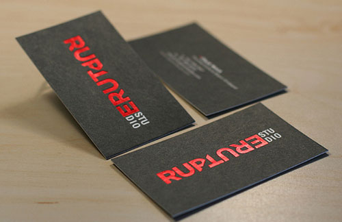 40 embossed business cards with classy look and feel custom foil business cards colourmoves