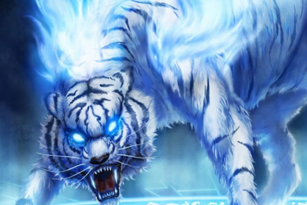 25 fantasy wallpapers you would love to use fantasy fire tiger wallpaper voltagebd Images