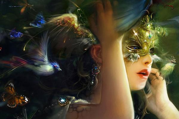 girl fantacy 25 Fantasy Wallpapers