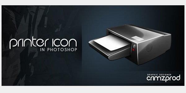 How to Create a Beautiful Printer Icon in Photoshop