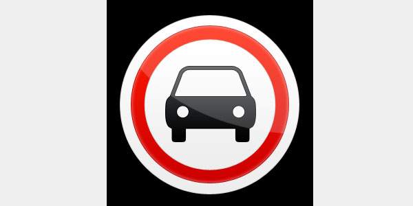 Creating a traffic sign icon in Photoshop