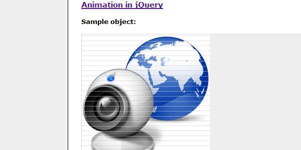 Easily Animate Web Buttons/Objects using jQuery
